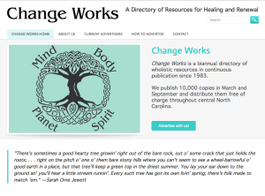 Change Works website content and development